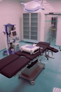 Operační stůl Golem 5TB