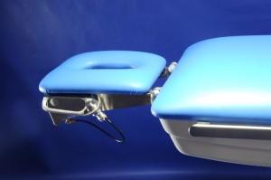 Hlavový segment z operačního stolu